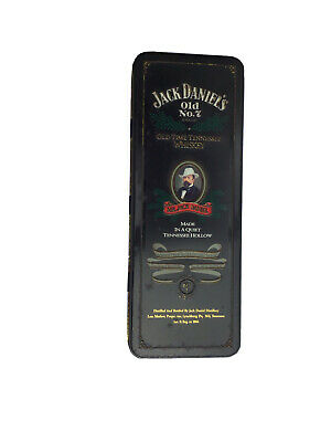 £1.50 • Buy Jack Daniels Tennessee Whiskey Collectors  Tin Hinged Lid