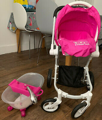 £20 • Buy Zapf Creation Baby Born Buggy / Car Seat And Bath Bundle - Collection Bexhill