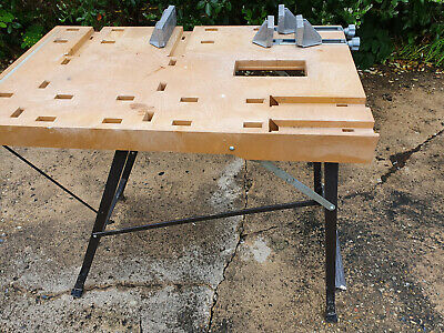£4.99 • Buy Folding Workbench With Slot-in Vices
