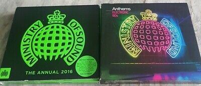 £5.50 • Buy Various Artists : Ministry Of Sound Bundle  Electronic 80s 2016 CD Collection