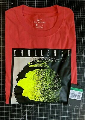 £54.99 • Buy Bnwt Nike Challenge Court Tee Coral Lemon Official Reissue Xl Andre Agassi