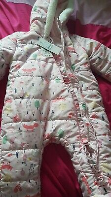 £12 • Buy Baby Girl Romper Snow Puddle Suit