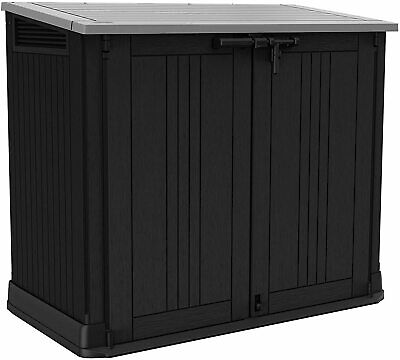 £247.99 • Buy Keter Store It Out MAX Garden Lockable Storage Box XL Shed Outside Bike Bin Tool