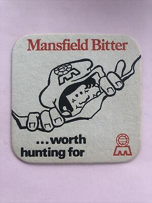£1.20 • Buy Mansfield Bitter Worth Hunting For Mansfield Brewery Vintage Beer Mat