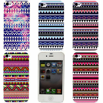 £4.99 • Buy IPHONE Shell 4 - 5 Or 5C - Pattern Aztec - Be Fashion ( Case Cover Aztec)