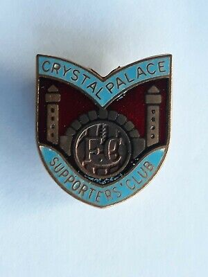 £8.99 • Buy CRYSTAL PALACE 1960's SUPPORTERS CLUB BADGE
