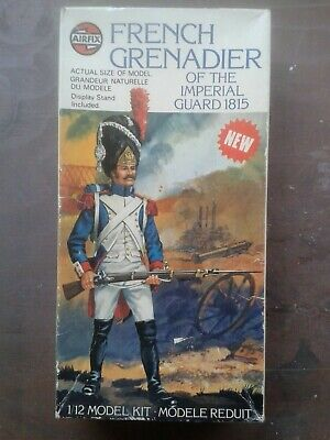 £25 • Buy Airfix 1/12 French Grenadier Imperial Guard Of 1815 - Unassembled Kit