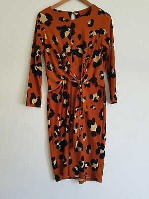 AU5.52 • Buy Special  Occasion  Dress By Wallis  Size  12 . Rust