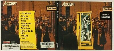 $15.99 • Buy ACCEPT I'm A Rebel AUDIO CD Digitally Remastered 2000 Germany Heavy Metal RARE!