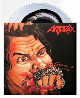 £1.28 • Buy Anthrax - Fistful Of Metal - Clear Black Colored Vinyl Lp - Only 333 - Metallica