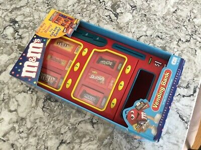 $70 • Buy NEW M&M's MARS Candy Vending Machine Bank - Uses Snack Size Candy!