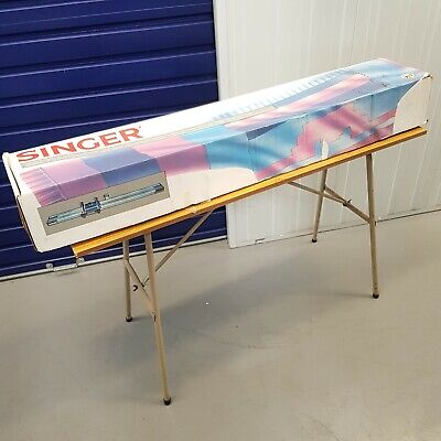 £165 • Buy Singer Designer 2 Chunky Knitting Machine Boxed With Instructions & Table