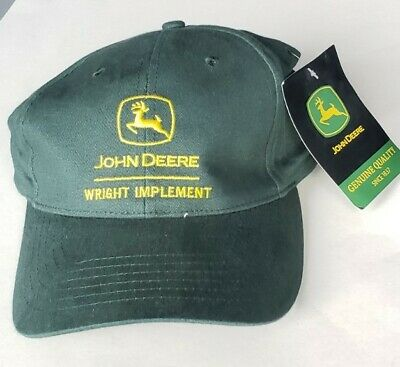 £9.41 • Buy Wright Implement Kentucky John Deere Green Yellow Hat Adjustable  NEW W Tags