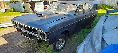 AU5100 • Buy Ford 1970 Xw Falcon Sedan, NO RESERVE AUCTION NOT Xy. Very Rusty Project Car