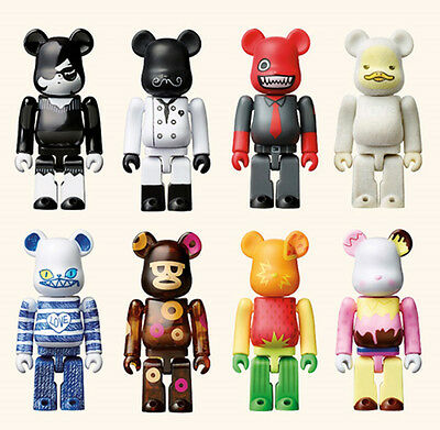 $170 • Buy Medicomtoy Bearbrick 100% SPC Collaboration Limited 8 Set (with Case)