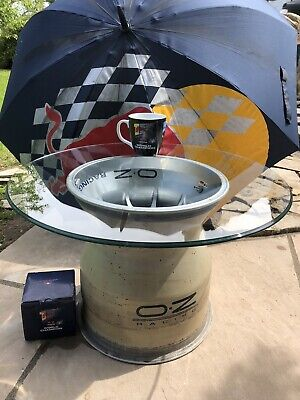 £650 • Buy F1 Coffee Table F1 Wheel Seb Vettel 112 Right Rear With Auth Cert