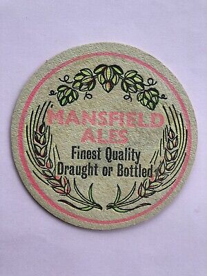 £1.50 • Buy Mansfield Ales Finest Quality Mansfield Brewery Vintage Beer Mat