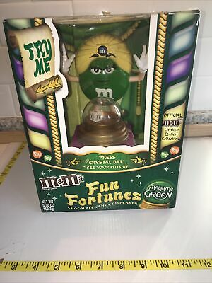 $18.99 • Buy M&M Fun Fortunes Candy Dispenser Madame Green&Purple Limited Edition Collectable