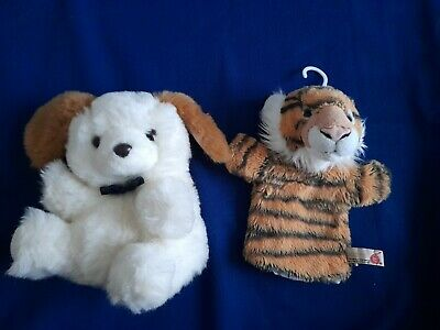 £2.75 • Buy 2 Hand Glove Puppets, Li-lo Dog, Keel Toy Tiger, Soft Puppets.