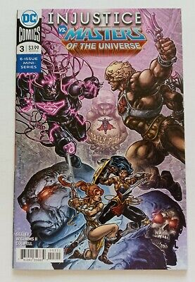 $4.95 • Buy Injustice Vs He-man Masters Of The Universe #3 Comic Near Mint Unread