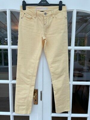 £3.99 • Buy Next Women's Relaxed Skinny Jeans Yellow Size 8