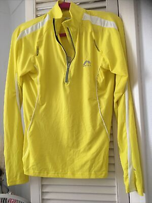 £6.50 • Buy Women's More Mile Running Top Yellow Size 12 Gym Jogger Yoga