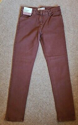£14.99 • Buy Next Womens Jeans Relaxed Skinny Mid Rise Size 10L