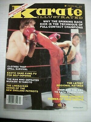 AU5.35 • Buy KARATE ILLUSTRATED (1984) Clothes That Spell Survival, Latest Regional Ratings