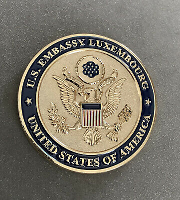 £18.59 • Buy United States Embassy, Luxembourg, Challenge Coin