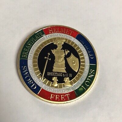 £5.07 • Buy Armor Of God Challenge Coin #2