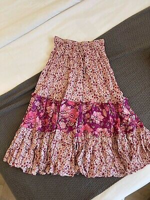 AU80 • Buy Spell & The Gypsy Collective Pink Maxi Skirt Size: XS