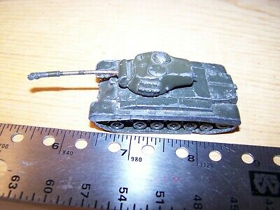 $6.99 • Buy Vtg Comet Authenticast Ww Ii M26 Pershing Tank #5165  1:108 Scale