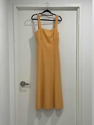 AU89 • Buy FINDERS KEEPERS SIZE 8/SMALL ORANGE Midi Brand New