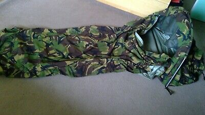 £170 • Buy Slightly Used Dutch Army Hooped Bivi Bag Gore Tex Camouflage Bivvy Size L.