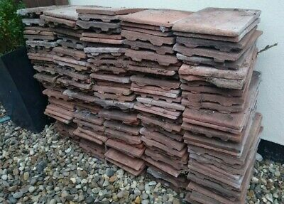 £85 • Buy 170+ Reclaimed Peg Tiles Roofing Shed DIY Wall Feature Garden Building Tile Roof