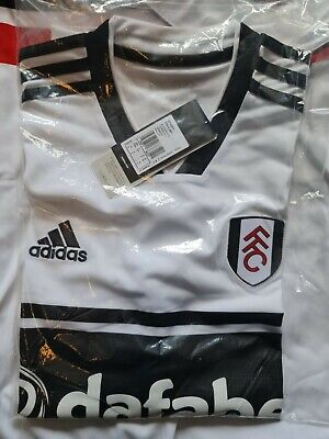 £12 • Buy Fulham 2018 - 2019 Home Football Shirt Brand New In Bag Adult Size Small