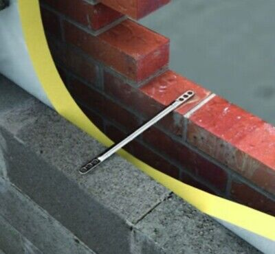 £29.99 • Buy 300 X VST1 225mm Heavy Duty Stainless Steel Cavity Brick Wall Safety Ties