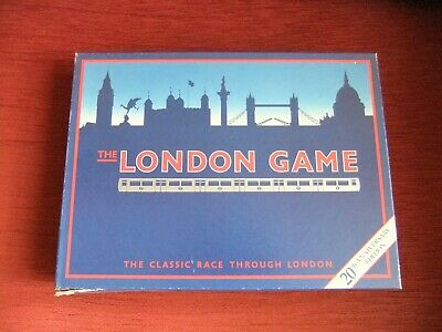 £4 • Buy THE LONDON GAME 20th Anniversary Edition TRAVEL TUBE UNDERGROUND