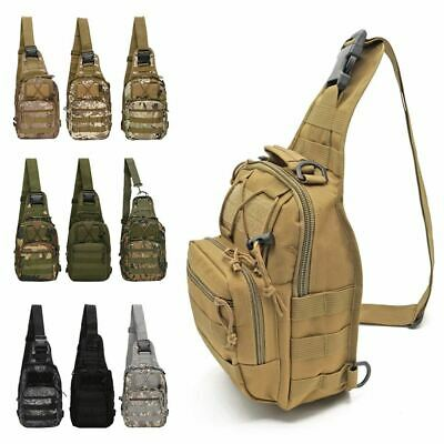 $14.99 • Buy Waterproof Outdoor Cycling Tactical Military Crossbody Shoulder Chest Sling Bag