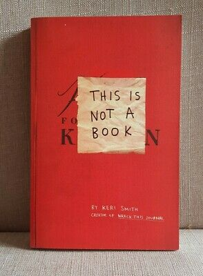 £2 • Buy This Is Not A Book By Keri Smith GOOD CONDITION