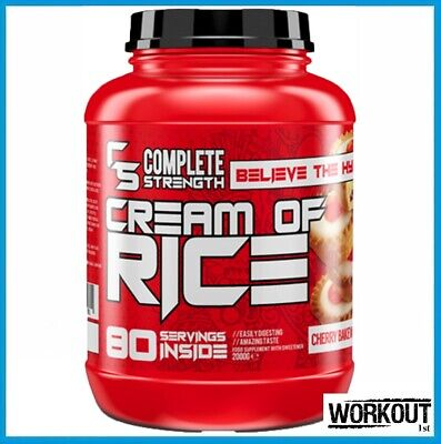 £21.95 • Buy Complete Strength Cream Of Rice Fast Acting Carb 2kg 80 Servings