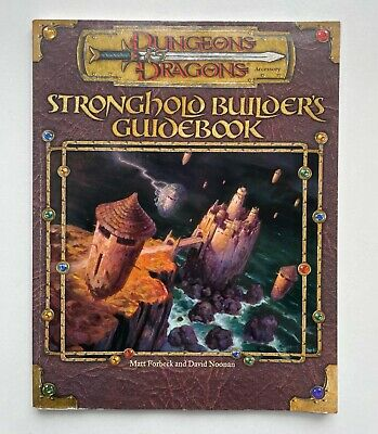 AU75.49 • Buy Dungeons & Dragons Stronghold Builder's Guidebook Paperback Book D20 D&D 3.5E