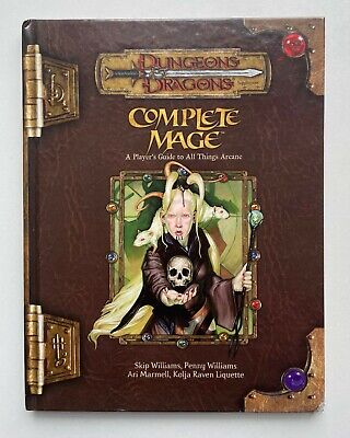 AU132.08 • Buy Complete Mage A Players Guide To All Things Arcane Dungeons & Dragons D20 3.5