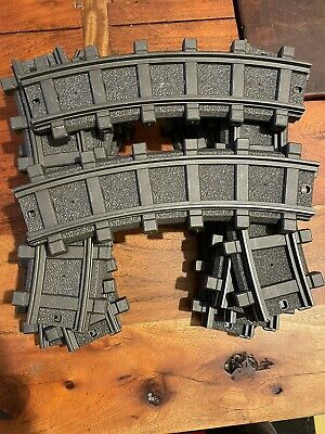 £9.99 • Buy Playmobil - 4385 - 12 X Curve Track Pieces For RC Train G Scale