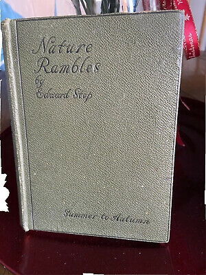 £7 • Buy Nature Rambles By Edward Step Summer To Autumn 1930 Illustrated