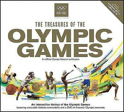 £9.90 • Buy The Treasures Of The Olympic Games By Neil Wilson London & Rio (Hardcover, 2016)