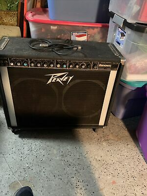 $ CDN309.64 • Buy Peavey Renown Combo Amp As Is Comes On A Little Scratchy