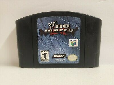 $ CDN61.92 • Buy WWF No Mercy N64 Authentic (Nintendo 64, 2000) Clean  Tested Fast Shipping