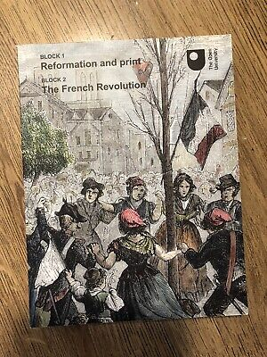 £2.99 • Buy The Open University Arts And Humanities Reformation And Print & The French Revol