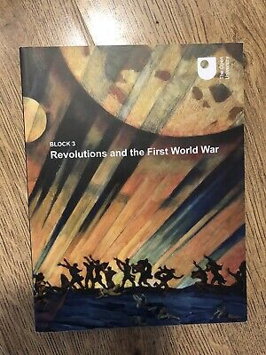 £2.99 • Buy The Open University Arts And Humanities Revolutions And The First World War